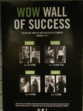 WOW Wall of Success